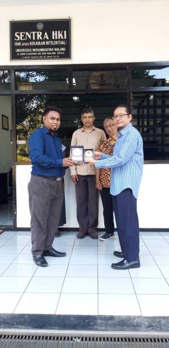 Sentra KI Unimuda Sorong jalin kerjasama dengan Sentra KI UMM Malang.